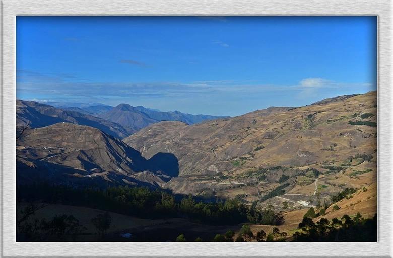 Andes - Het prachtige Andes gebergte. In het noorden is het het hoogst en naar het zuiden toe steeds vlakker. Niettemin blijft het een schitterend uit