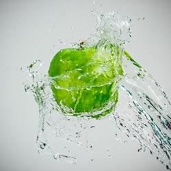Apple splash