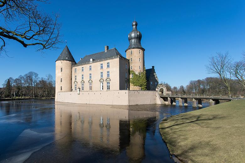 Burg Gemen in Borken - Hierbij een foto van Burg Gemen een prachtig kasteel in de plaats Borken in Münsterland in Duitsland.<br /> <br /> Burg Gemen