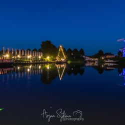 Dokkum in blue....
