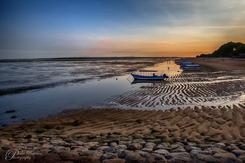 Sanur - Zonsondergang aan &quot;ons&quot; strand in Sanur (Bali)<br /> <br /> Gr<br /> <br /> Peter