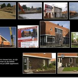 De bouw van ons nieuwe huisje.
