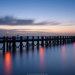 Blue hour Vlissingen