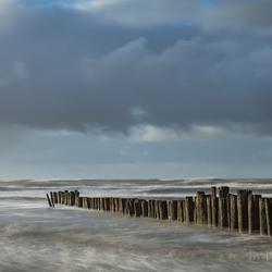 storm op komst in Noord-Holland
