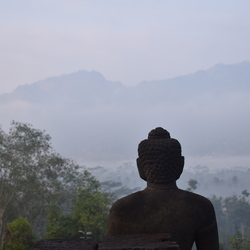 Zonsopgang Borobudur