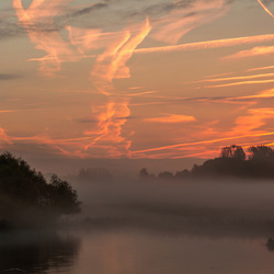 Foggy Sunrise,.....Gorinchem.