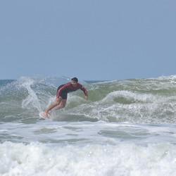 wave surfing