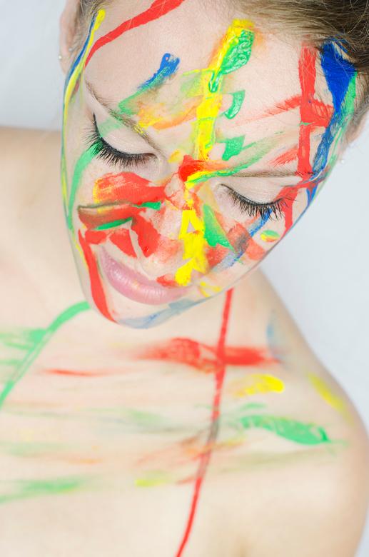 Human painting -