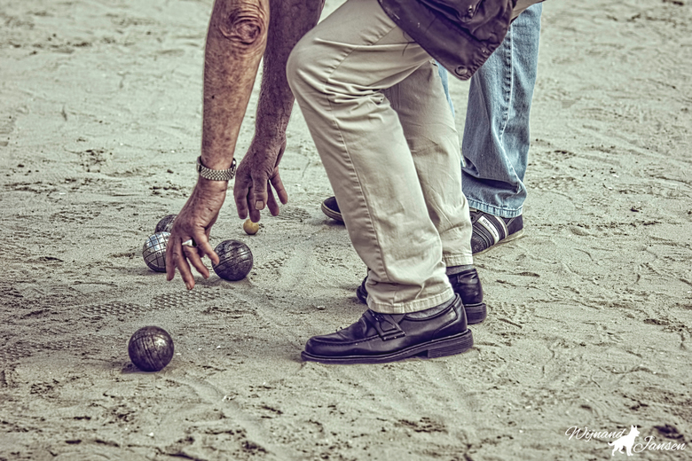 Difficult sport for elderly people