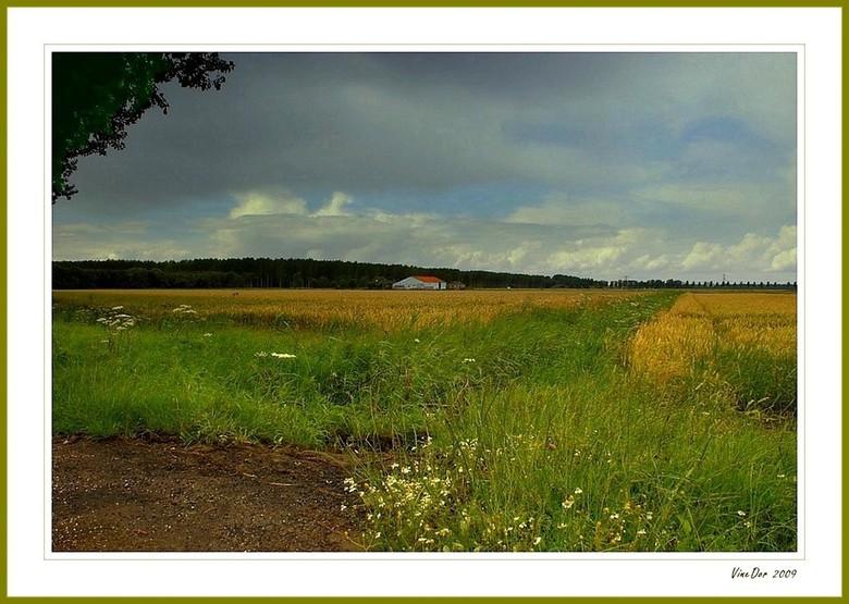Het lege land II - Ik heb een serie in de planning over ons polderlandschap. Ik weet echter nog niet of ik er ver mee kom, omdat ik afhankelijk ben va
