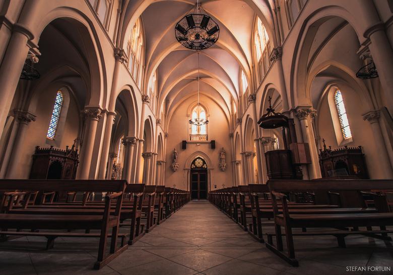 Kerk in Saint-Fortunat