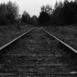Oude treinspoor