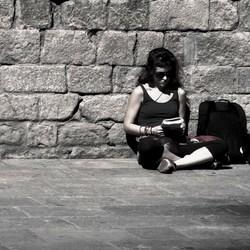 Bewerking: la niña y la paloma