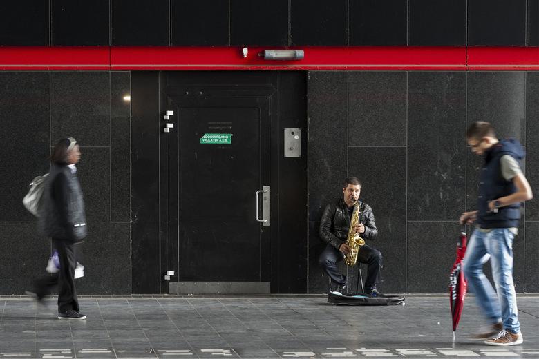 Straatmuziek zonder glorie
