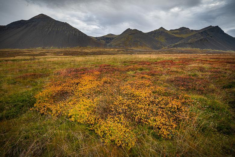 Icelandic Plains - Een vlakte ergens in IJsland tijdens de herfst.<br /> <br />