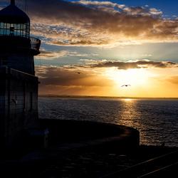 Sunset @ Howth, Co. Dublin, Ierland