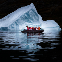 One moment in Greenland