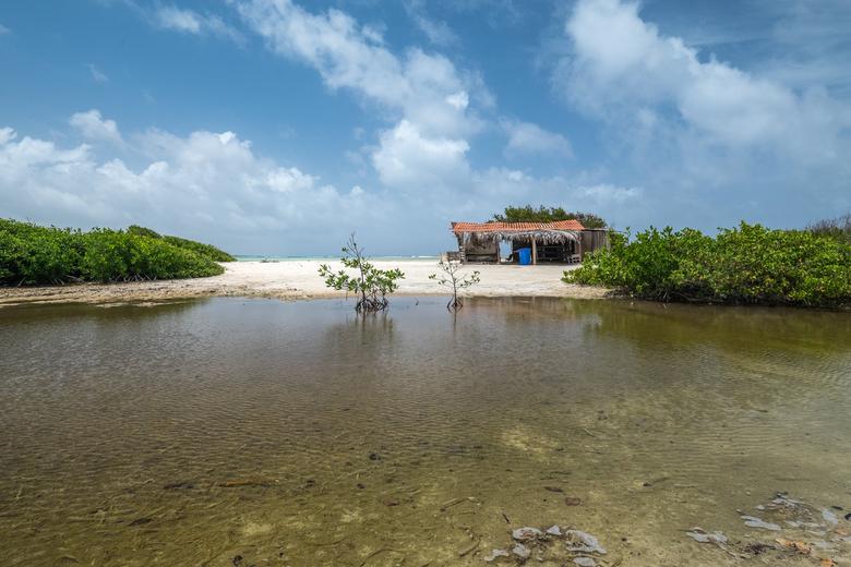 Beach hut -