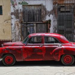 Straatopname Cuba (old timer)##