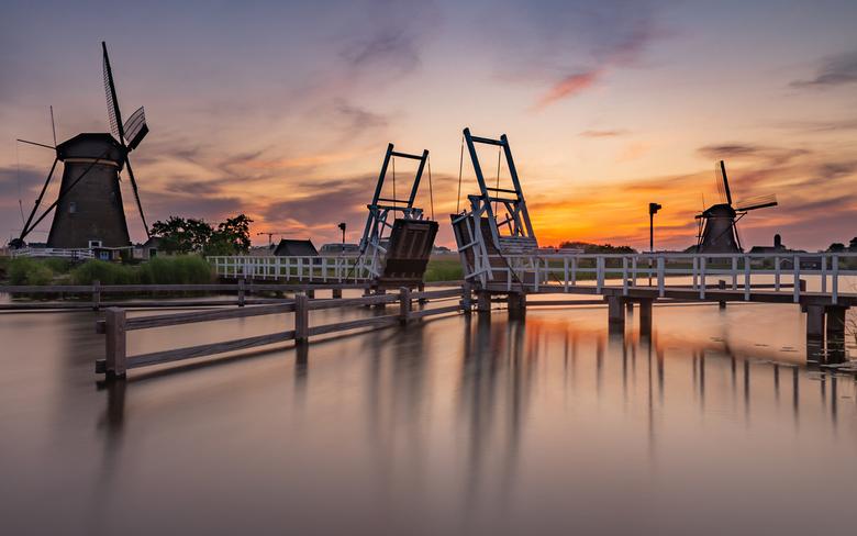 Sunset @ Kinderdijk - Sunset @ Kinderdijk