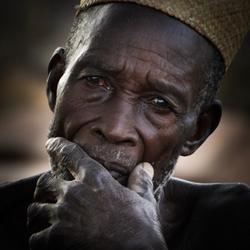 dorpschef in Togo