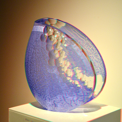 Glas Sculpture DOCK  Art-Gallery 3D