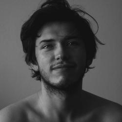 Man in Black&White