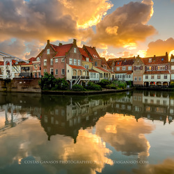 The historic city of Enkhuizen