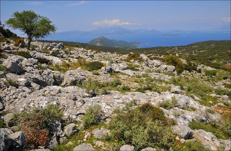 Paradijsje - Mijn mooiste ervaring met Griekenland tot nu toe: Ithaki. Niets dan rust, ruimte en stranden en strandjes geheel voor je zelf. Foto genom