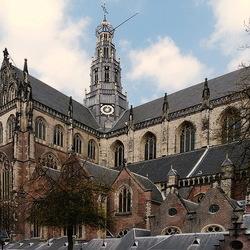 Grote St Bavokerk.
