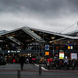 Tilburg station kleur