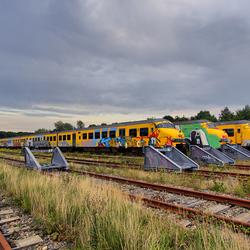 NS Train graveyard