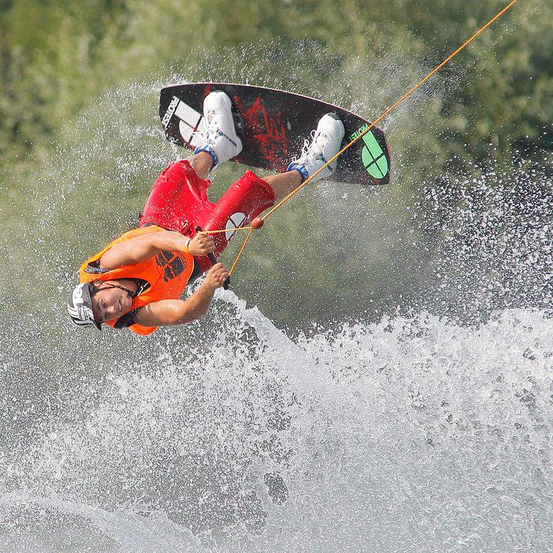 wakeboarden - Foto&#039;s gemaakt bij een internationaal wakeboard-kampioenschap in de buurt.<br /> <br />