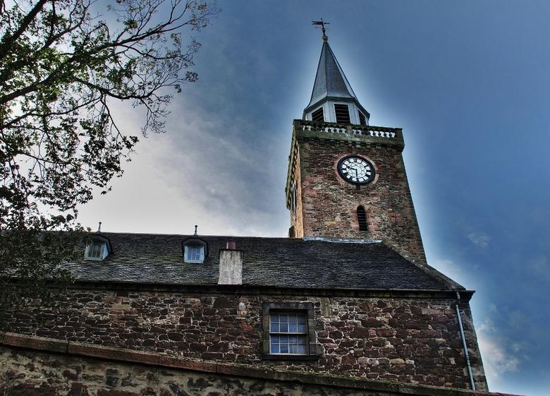 kerk - oud kerkje in Schotland