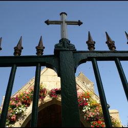 Kerk in Courtils, Frankrijk