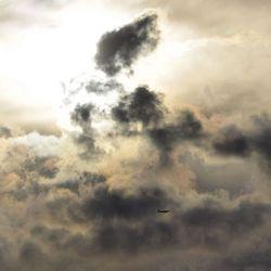 schitterende wolkenpartijen