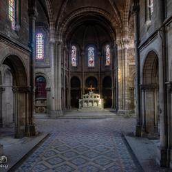 Een verlaten kerkje...