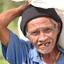 Filipijnse man, rijstvelden Bohol