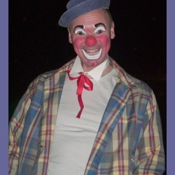 clown in het circus