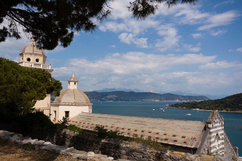 Portovenere - Vergezicht Portovenere Italië