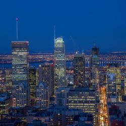 Montreal bij avond