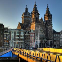 ochtend in Amsterdam