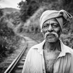 Spoorweg portret