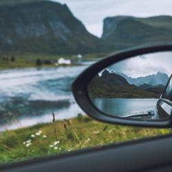 Lofoten in de spiegel