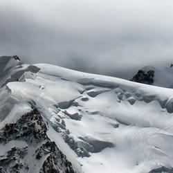 Mont Blanc du Tacul Summit 4285 M