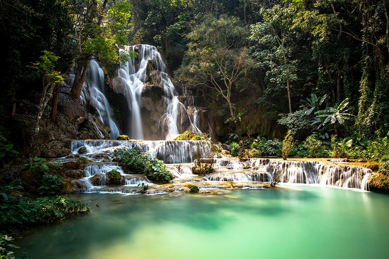 paradise - Paradijs in Laos. Lange sluitertijd met Bigstopper filter.