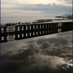 reflecties met zeezicht 2