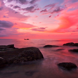 Sunset Khao Lak