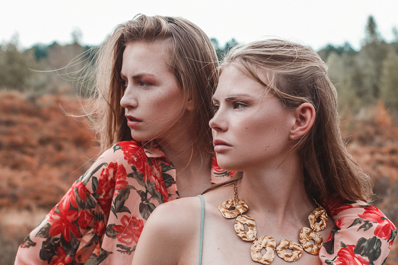 Tessa &amp; Rohmana voor Salyse magazine - Modellen: Tessa @Embrace model management <br />