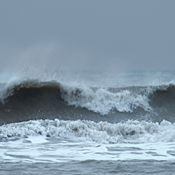 overspoeling met golven 5
